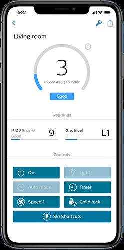 Aplikacja mobilna Philips Clean Home+