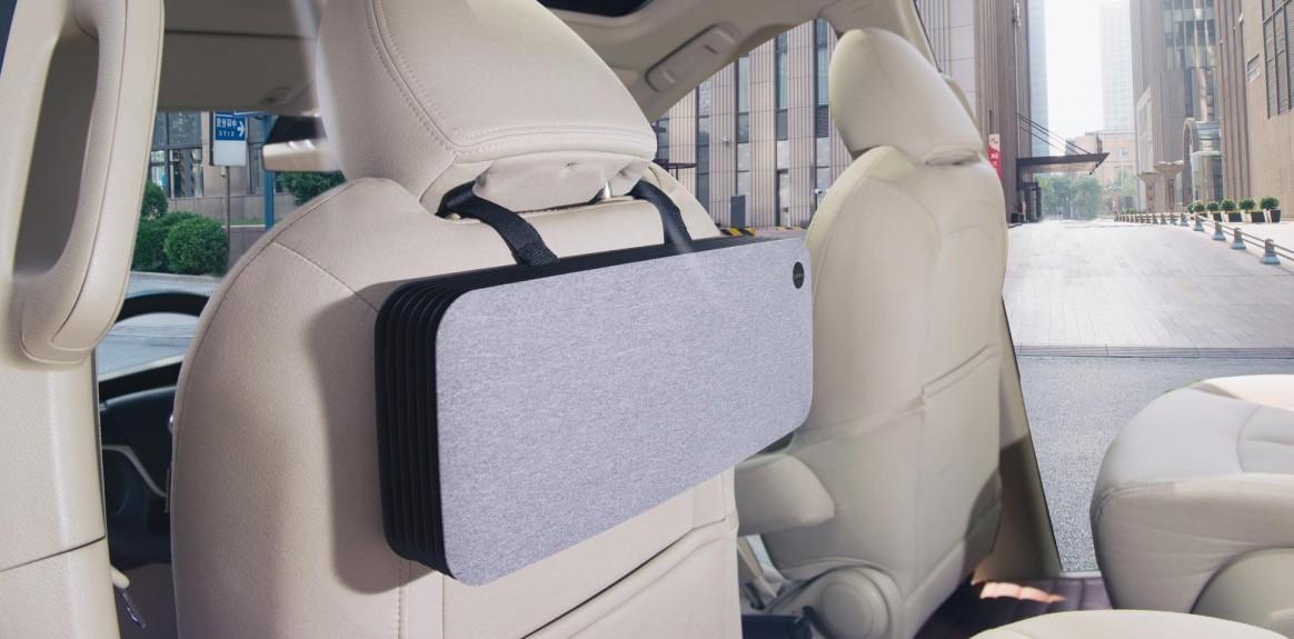oczyszczacz LIFAair LAC50 w kabinie samochodowej