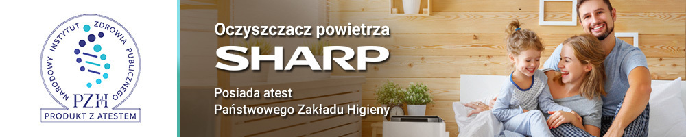 Produkt z atestem - Sharp FP-F30EUH