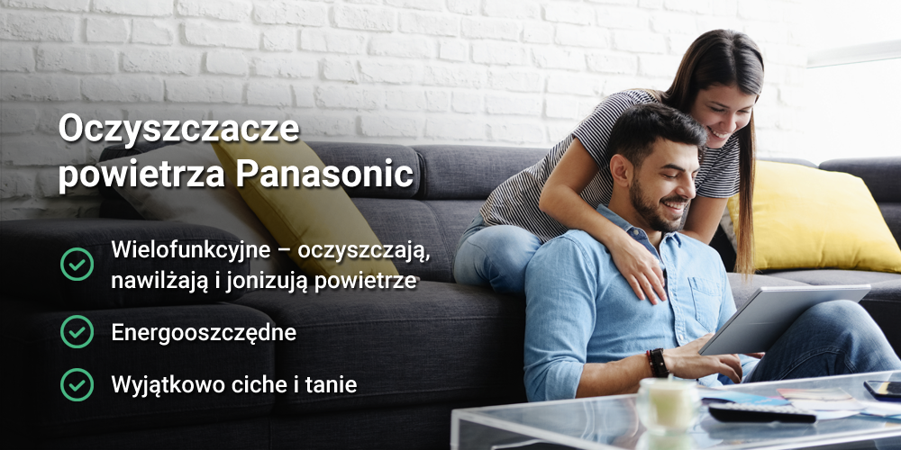 Energooszczędny i wydajny - oczyszczacz powietrza Panasonic F-VXR90G-K