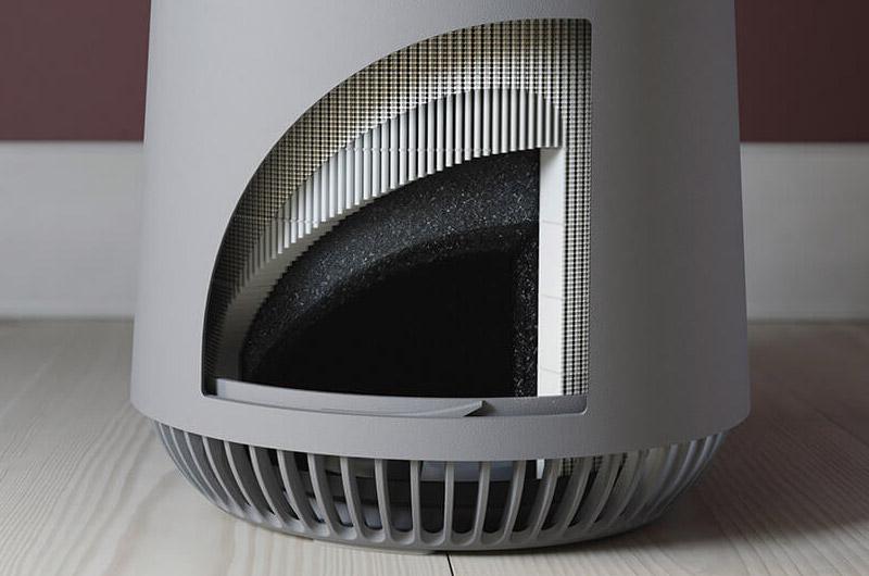 Przekrój filtracji w oczyszczaczu Electrolux Flow A3 FA31-201GY