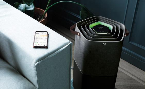 Czujnik jakości powietrza w oczyszczaczu powietrza Electrolux Pure A9 PA910-404DG