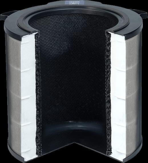 Przekrój - filtr Electrolux EFDBRZ6