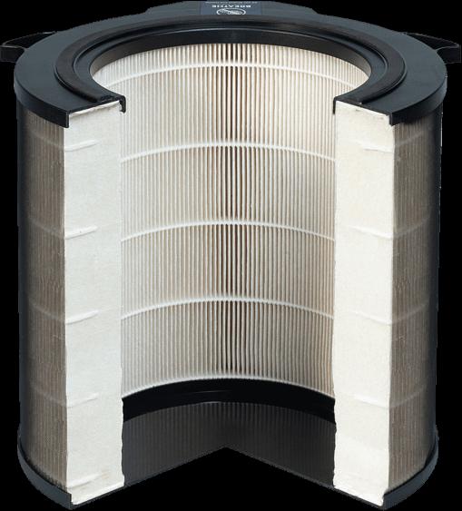 Przekrój - filtr Electrolux EFDBTH6