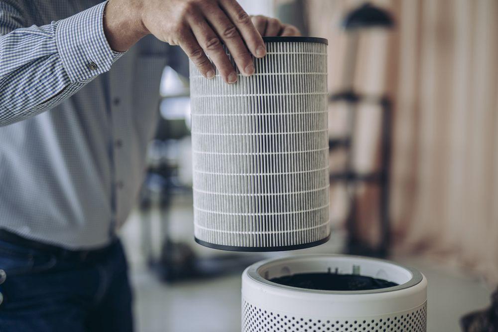 Modułowy filtr oczyszczacza powietrza