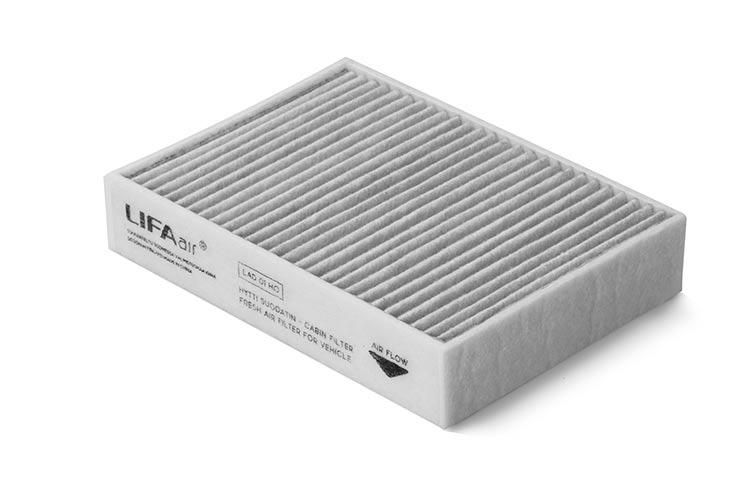 dwuwarstwowy filtr w LIFAair LAC50