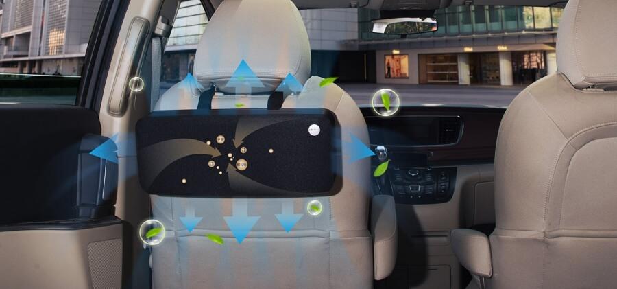LIFAair LAC52 - usuwanie zanieczyszczeń z wnętrza auta