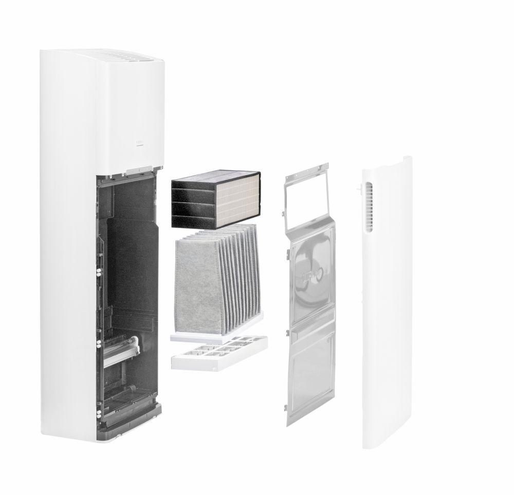 Oczyszczacz LIFAair LAF200 - system filtracji