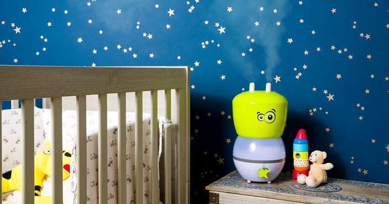 Nawilżacz Air&me Gota Kid w pokoju dziecka