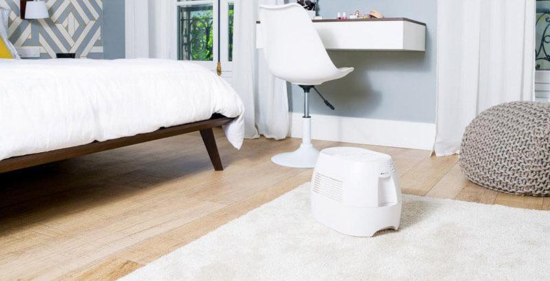 nawilżacz powietrza do sypialni