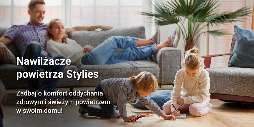 Nawilżacz powietrza Stylies Helos - idealny do domu