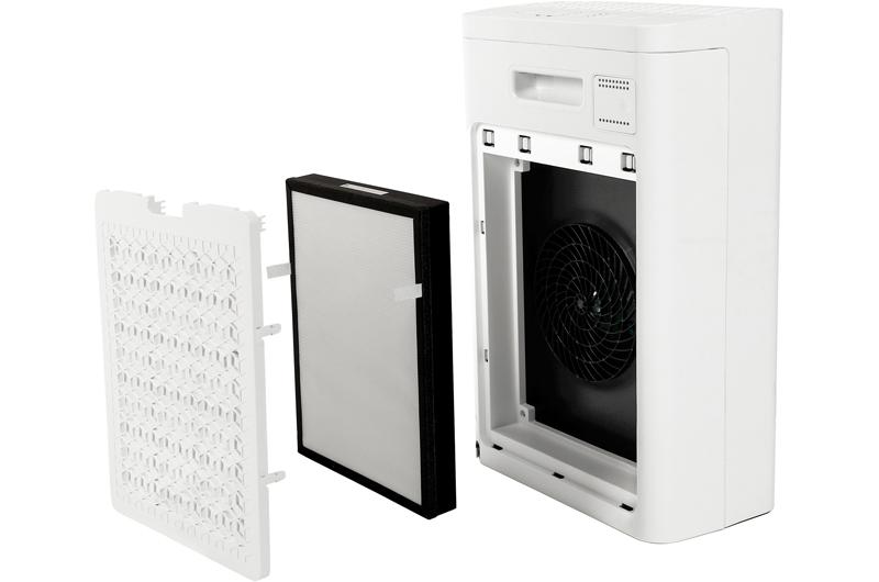 Filtracja w oczyszczaczu powietrza Toshiba
