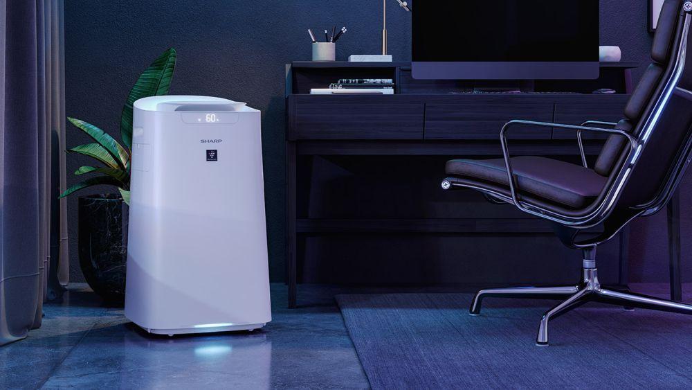 Oczyszczacz z filtrem powietrza - aranżacja