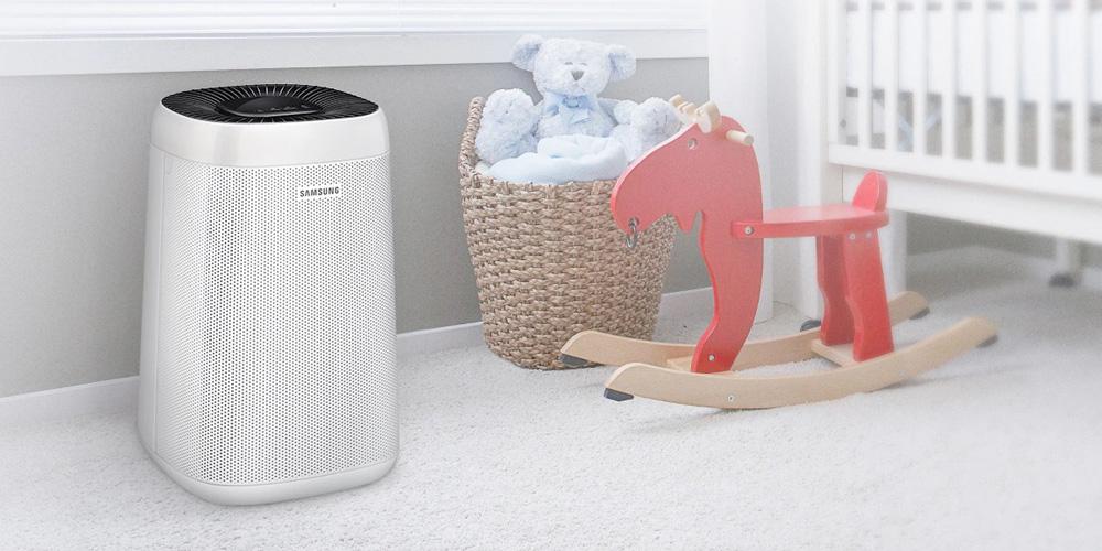 Idealny do sypialni - oczyszczacz powietrza Samsung AX34R3020WW