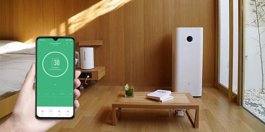 Oczyszczacz Xiaomi Air Purifier Max - aranżacja