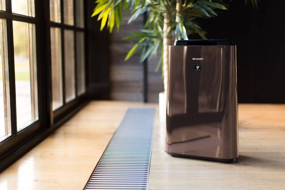 Oczyszczacz powietrza Sharp z funkcją nawilżania