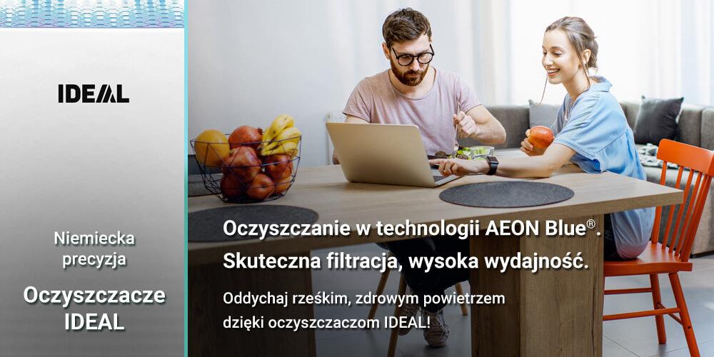 IDEAL - oczyszczanie w technologii AEON Blue