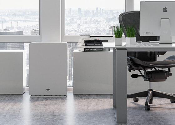 Oczyszczacz IDEAL AP 80 Pro w biurze
