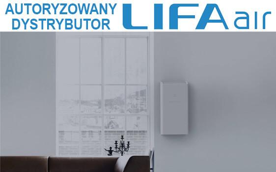 Oczyszczacz i wymiennik LIFAair LAF200 aranżacja