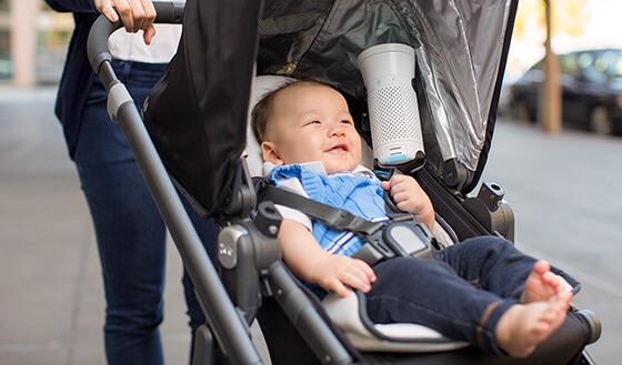 Oczyszczacz Wynd w wózku dziecięcym