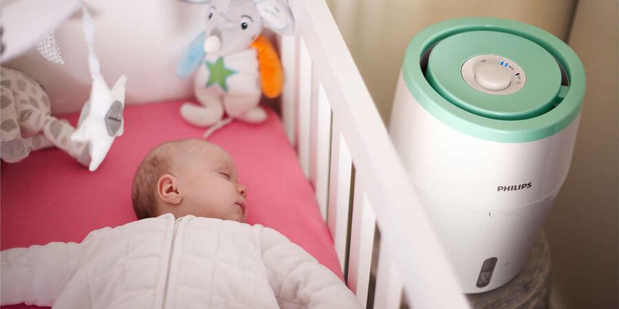Philips HU4801/01 w pokoju dziecięcym