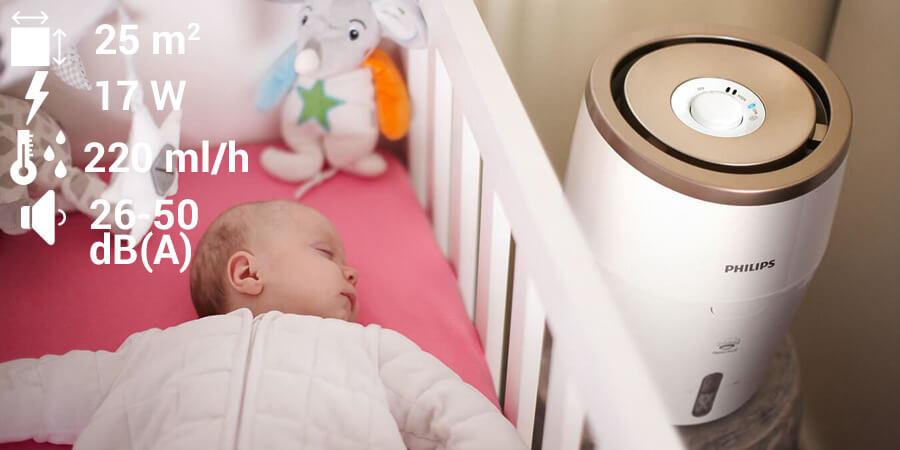 Philips HU4803/01 w pokoju dziecięcym