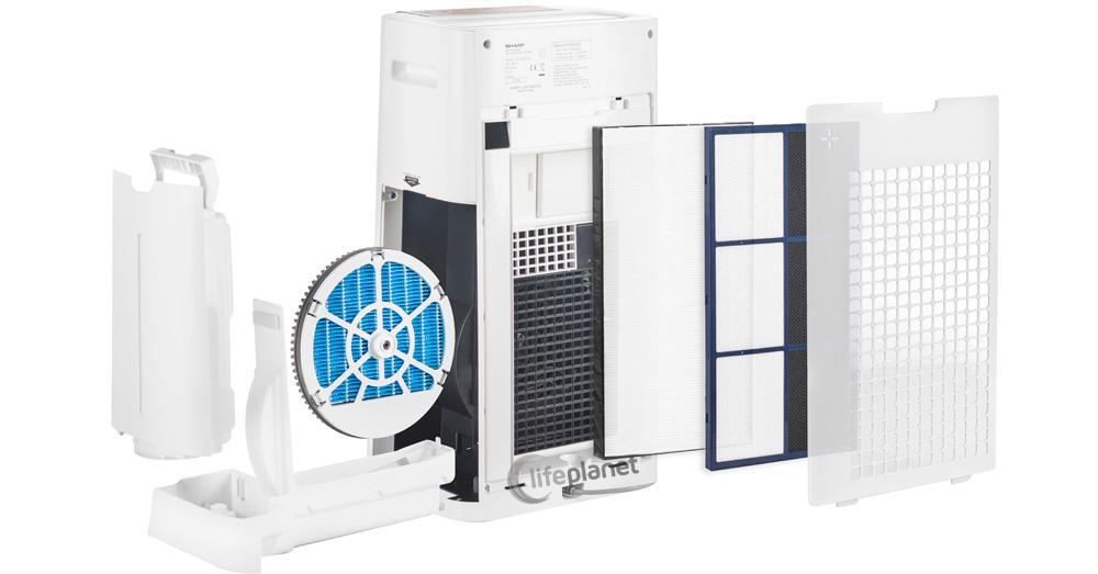 Pięciostopniowy system filtracji