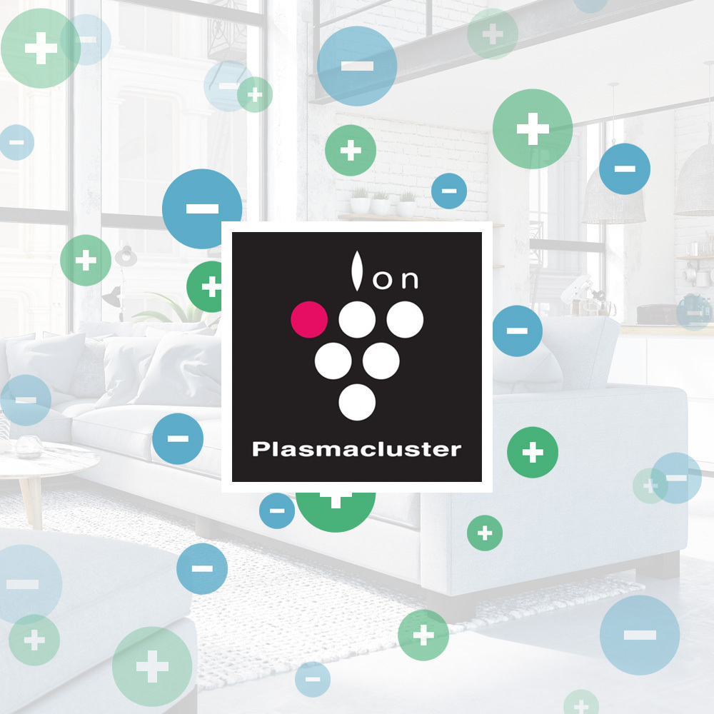 Technologia Plasmacluster - Sharp UA-HG40E-L
