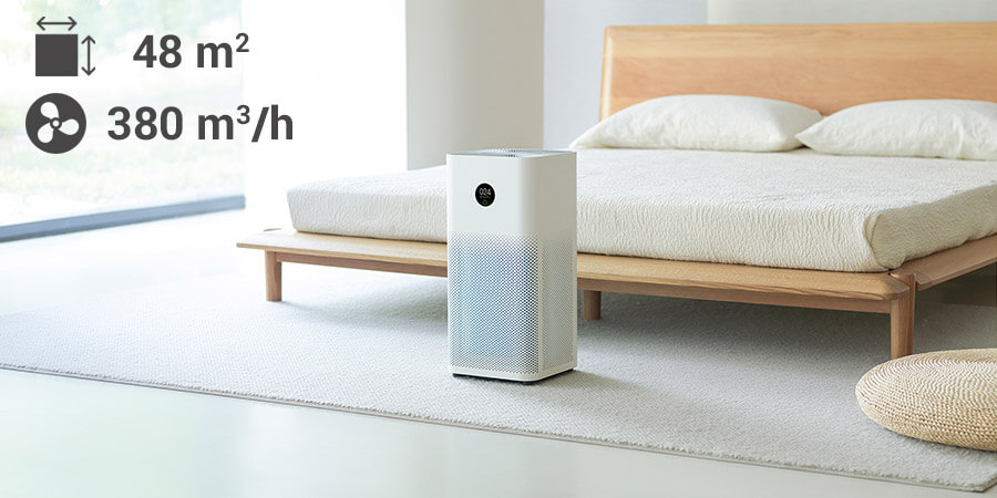 Xiaomi Air Purifier 3H aranżacja