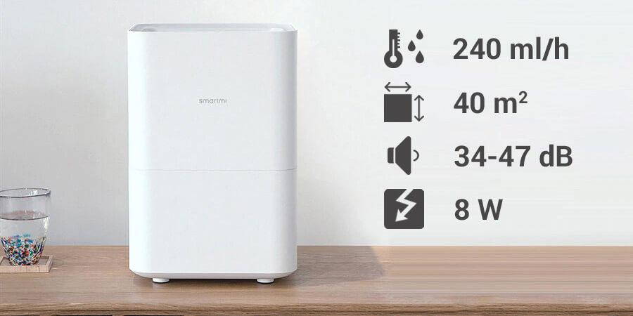 Xiaomi Smartmi Pure Evaporative aranżacja