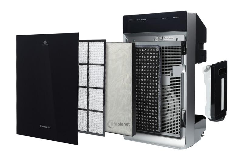 Doskonała filtracja w oczyszczaczu Panasonic F-VXR70G-K