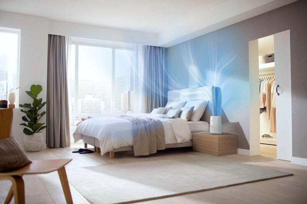 Philips AC0819/10 - aranżacja w sypialni