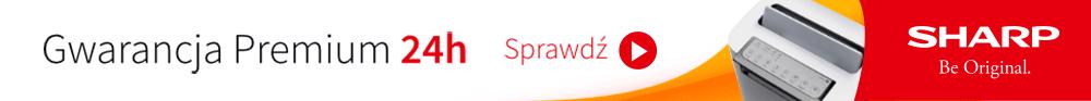 Oczyszczacz Sharp i Gwarancja Premium 24h