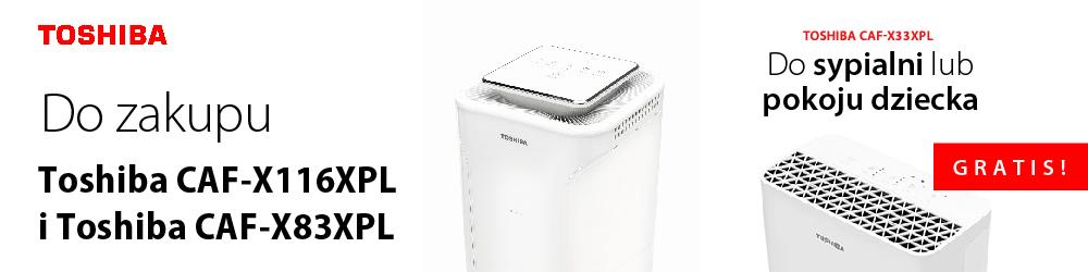 Toshiba oczyszczacz gratis