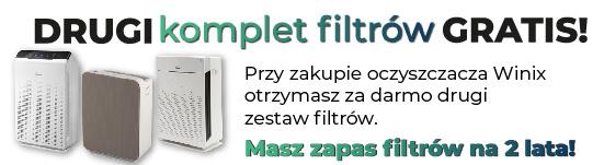 Winix - gratis filtry