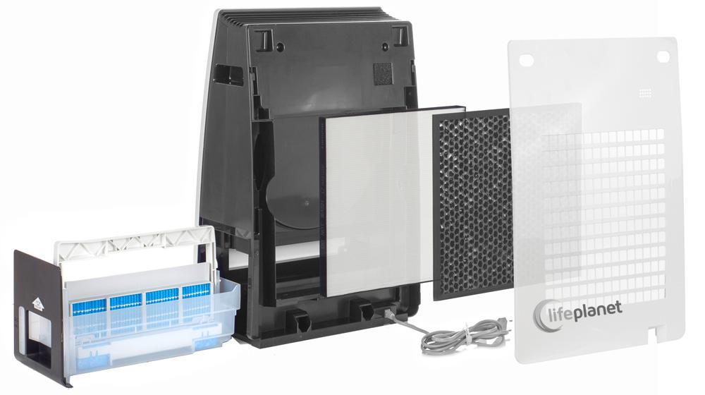 5 stopni filtracji w oczyszczaczu Sharp KC-F32EUW