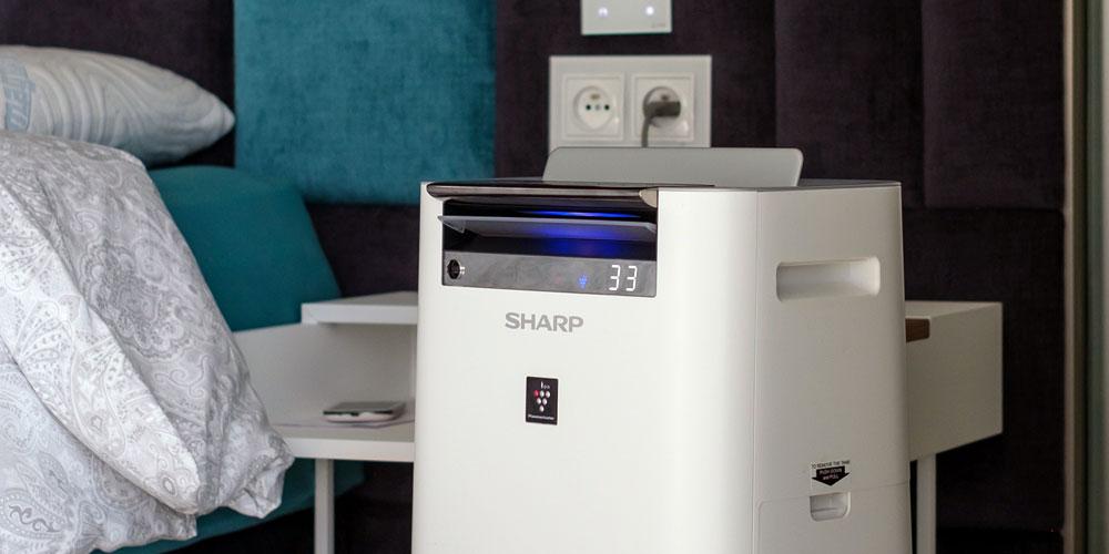 oczyszczacz Sharp KC-G50EUW dla alergików