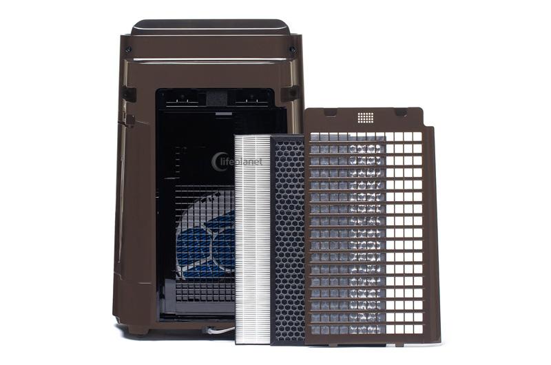 System filtracji w Sharp UA-HD40E-T