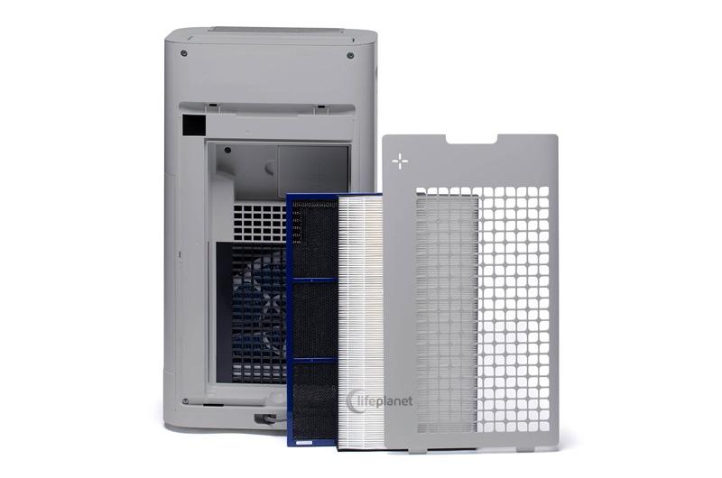 Filtracja w oczyszczaczu Sharp UA-HG60E-L