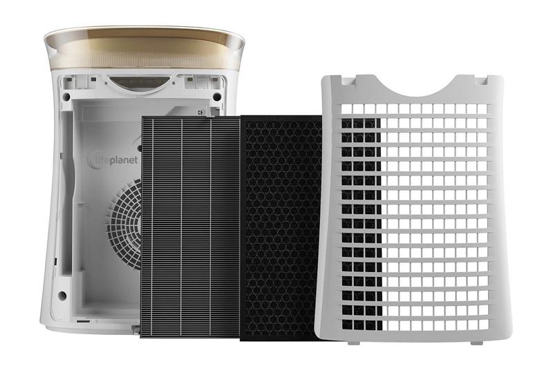 Filtracja w oczyszczaczu Sharp UA-PG50E-W