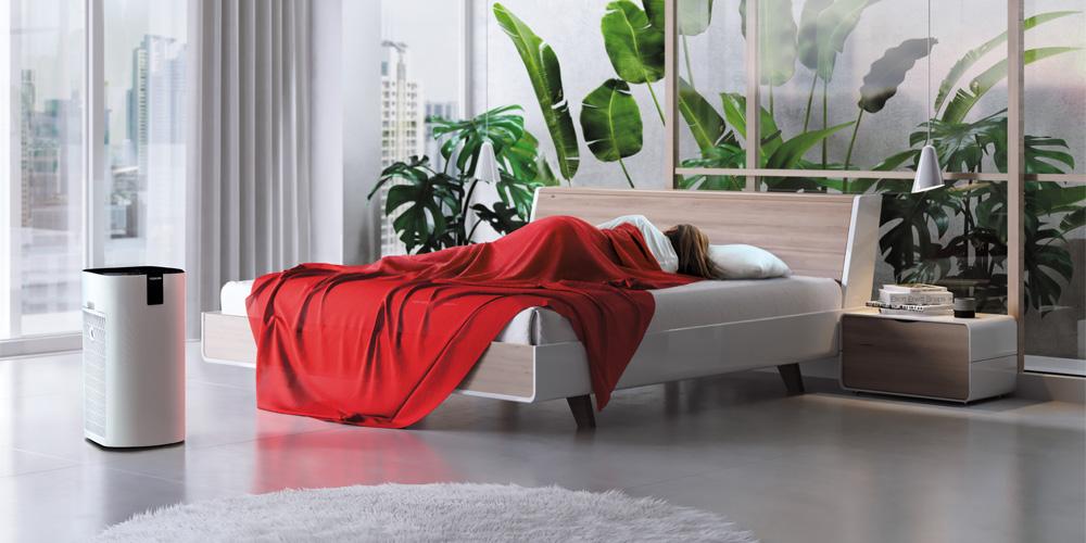 Idealny do sypialni - oczyszczacz powietrza Toshiba CAF-X116XPL