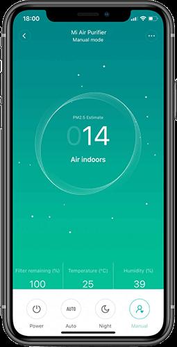 Mi Home - aplikacja mobilna do obsługi Xiaomi Air Purifier Pro H