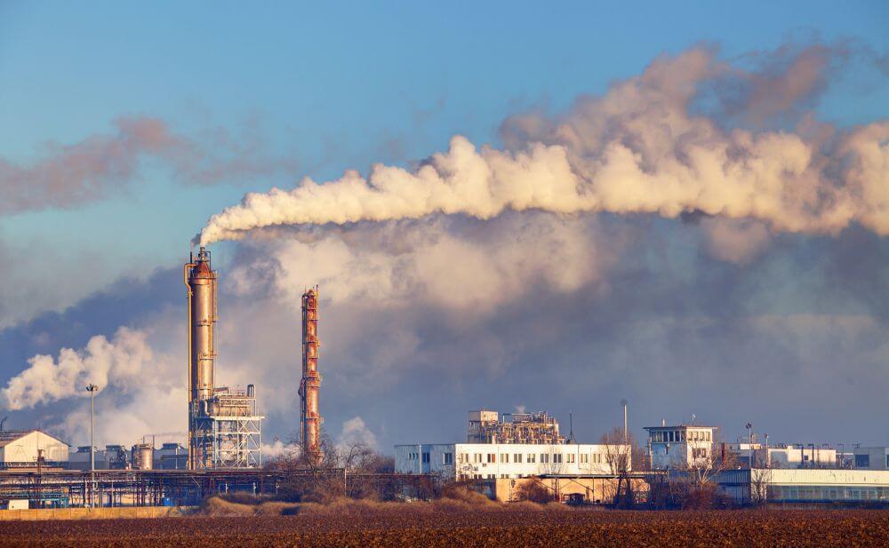zanieczyszczone powietrze - smog